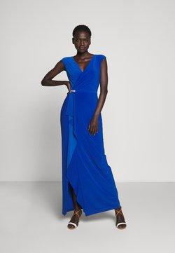 Lauren Ralph Lauren - CLASSIC LONG GOWN - Robe de cocktail - portuguese blue
