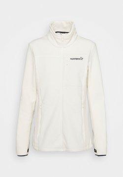Norrøna - WARM JACKET - Fleece jacket - snowdrop