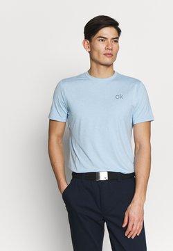 Calvin Klein Golf - NEWPORT TEE - T-Shirt basic - dusty blue