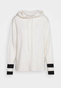 pure cashmere - HOODIE - Luvtröja - white