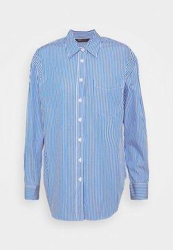 Marks & Spencer London - STRIPE - Hemdbluse - blue