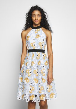 Chi Chi London - CHESTER DRESS - Cocktailkjoler / festkjoler - blue