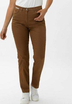BRAX - CORRY NEW - Slim fit jeans - nougat