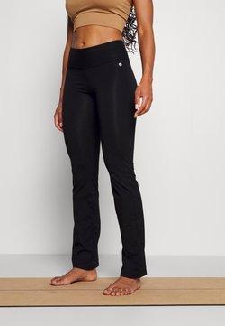 Deha - TIGHT PANTS - Trainingsbroek - black