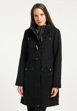 DreiMaster - Klasyczny płaszcz - schwarz