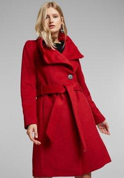 Esprit Collection - Wollmantel/klassischer Mantel - dark red