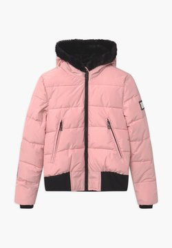 SuperRebel - SUSTAINABLE BASIC SHINY GIRLS - Kurtka snowboardowa - light pink