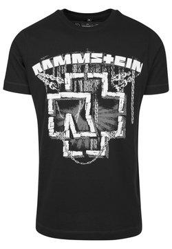 Mister Tee - RAMMSTEIN IN KETTEN TEE - T-Shirt print - black