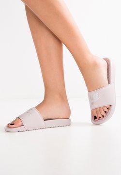 Nike Sportswear - BENASSI JDI - Ciabattine - particle rose/metallic silver