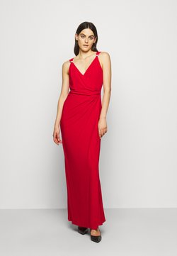 Lauren Ralph Lauren - CLASSIC LONG GOWN   - Ballkleid - orient red