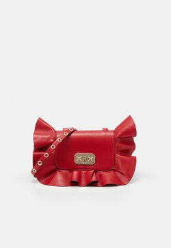 Red V - RUFFLE SHOULDER - Torba na ramię - red kiss