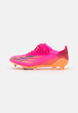 adidas Performance - X GHOSTED.1 FG - Chaussures de foot à crampons - shock pink/core black/screaming orange