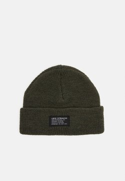 Levi's® - CROPPED BEANIE NO HORSE PULL PATCH UNISEX - Berretto - green
