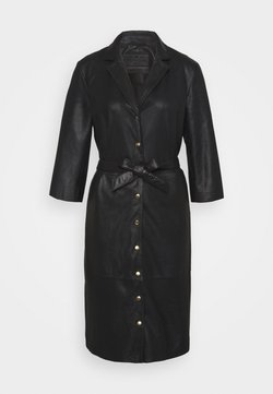 DEPECHE - DRESS - Robe d'été - black