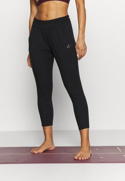 Curare Yogawear - PANTS 7/8 LENGTH - Jogginghose - black