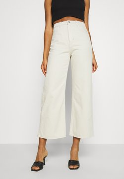 Weekday - LINEAR TROUSERS - Jeans straight leg - canvas
