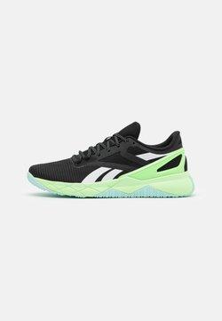 Reebok - CIRCUIT TR - Zapatillas de entrenamiento - core black/neon mint