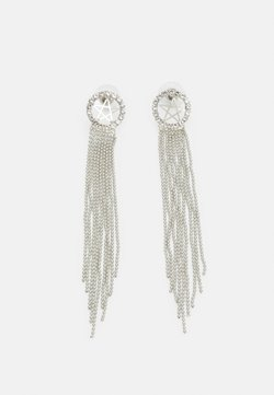 sweet deluxe - STATEMENT DROP EARRINGS - Earrings - silver-coloured