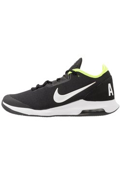 Nike Performance - COURT AIR MAX WILDCARD CLAY - Tennisschoenen voor kleibanen - black/white/volt
