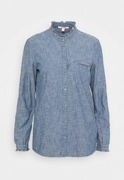 Esprit - BLOUSE - Koszula - grey blue