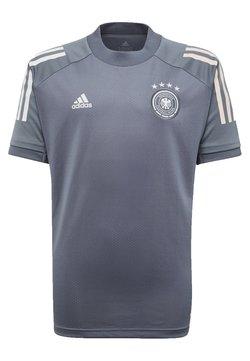 adidas Performance - DEUTSCHLAND DFB TRAINING SHIRT - Equipación de clubes - onix