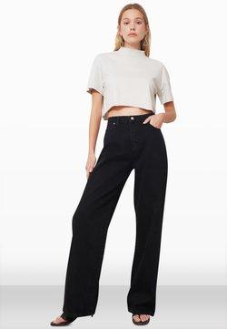 Trendyol - Jeans bootcut - black
