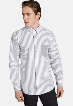 SHIRTMASTER - HELLO SAILOR - Hemd - light greyt white striped