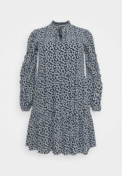Noisy May Tall - NMMARE NEW  DRESS - Vestido informal - black/pastel blue