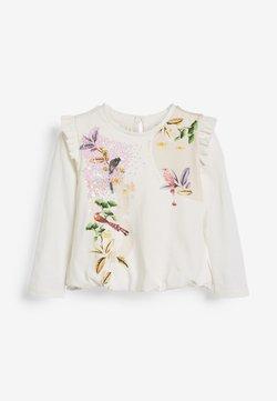 Next - Langarmshirt - white