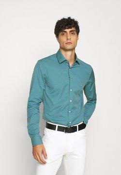 Calvin Klein Tailored - CONTRAST FLOWER PRINT SLIM - Businesshemd - blue