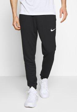 Nike Performance - DRY PANT TAPER - Pantalon de survêtement - black/white