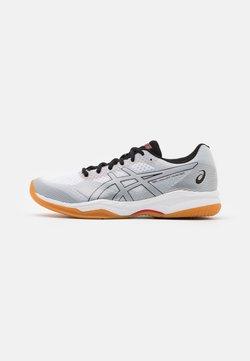 ASICS - COURT HUNTER - Scarpe da tennis per tutte le superfici - white/piedmont grey
