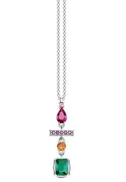 THOMAS SABO - FORMENMIX - Halskette - orange/violet/pink/green/silver-coloured