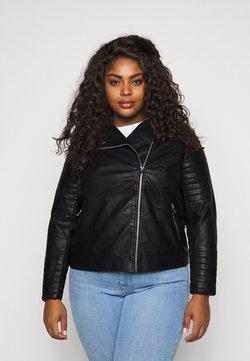 New Look Curves - BIKER - Jacka i konstläder - black