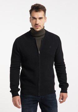 TUFFSKULL - Cardigan - schwarz