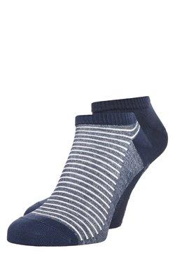 Levi's® - LEVIS 168SF LOW CUT STRIPE 2 PACK - Socken - mid denim