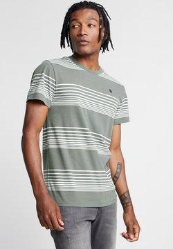 G-Star - LOAM STRAIGHT - T-Shirt print - orphus/milk stripe
