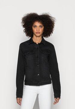 Esprit - JACKETS - Giacca di jeans - black dark wash