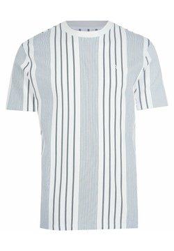 River Island - T-Shirt print - navy