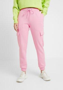 Urban Classics - LADIES CARGO PANTS - Jogginghose - pink