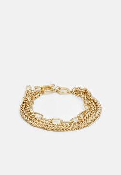 Pieces - PCLINNY COMBI BRACELET - Bracelet - gold-coloured