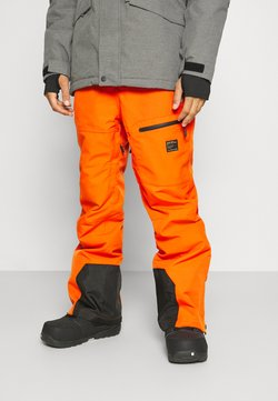 Superdry - FREESTYLE PANT - Pantalon de ski - havana orange