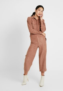 Missguided Tall - UTILITY BELTED - Combinaison - brown