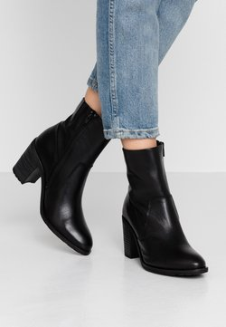 Bianco - BIACOFIA LEATHER BOOT - Ankle Boot - black