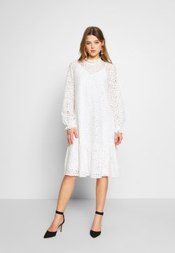 YAS - YASIRIA DRESS - Korte jurk - star white