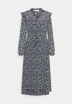 Moss Copenhagen - MAELLA RIKKELIE DRESS  - Skjortekjole - black