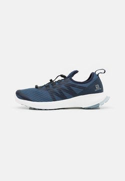 Salomon - SENSE FLOW 2 - Zapatillas de trail running - dark denim/white/ashley blue