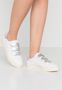 No Name - ARCADE STRAPS - Sneakers laag - white/silver