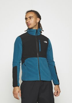 The North Face - GLACIER PRO FULL ZIP - Fleecejacke - teal/black