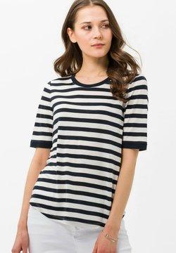 BRAX - STYLE COLETTE - T-Shirt print - navy